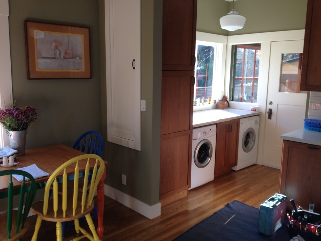 laundry kitchen
